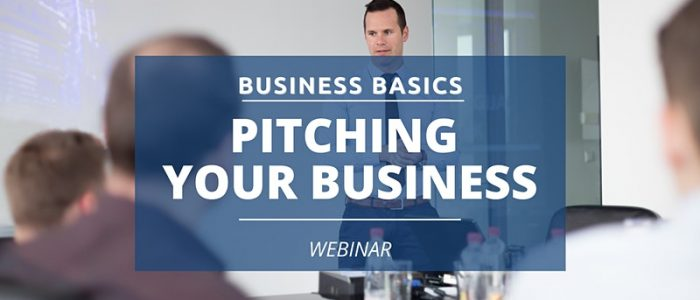 Business Basics - Pitching Your Business